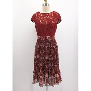 PLENTY TRACY REESE Arcadia Floral Print Lace Dress